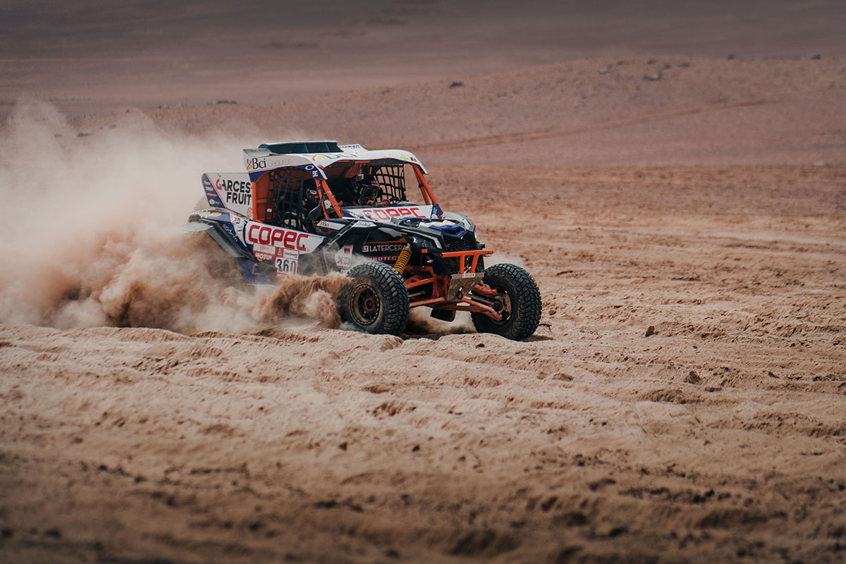 canam maverick dakar rally