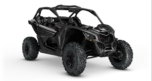 2017 Maverick X3 X ds TURBO R Triple Black 3 4 front