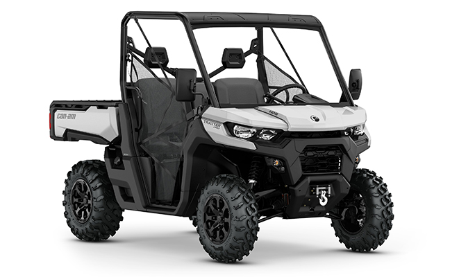 canam traxter hd8 pro silber