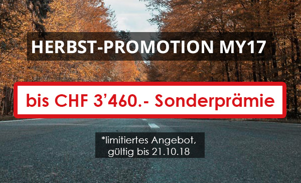 Herbst Promotion MY17