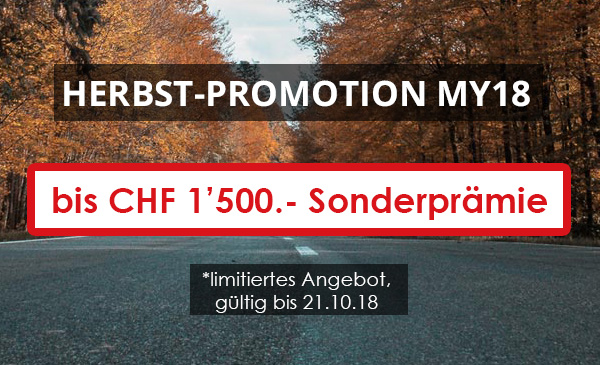Herbst Promotion MY18