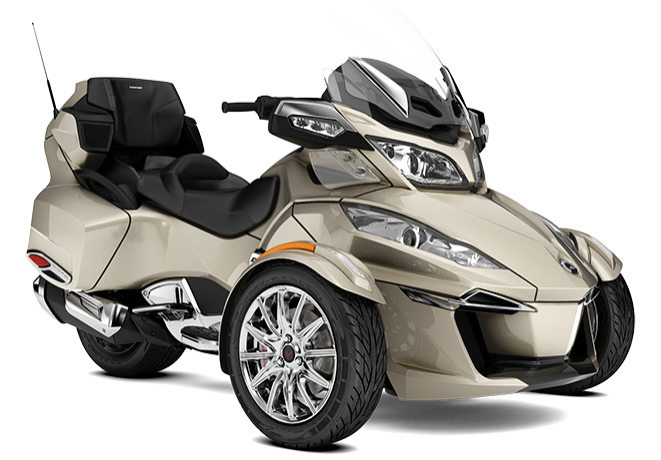 canam spyder rt ltd my18 champagne