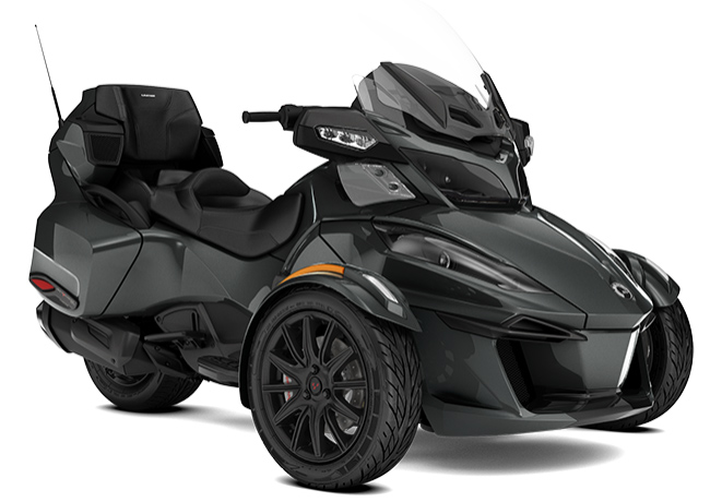 canam spyder rt ltd my18 schwarz