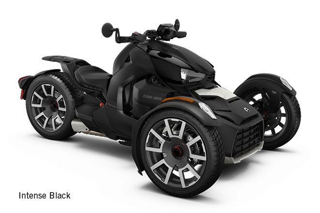 canam ryker std intense black 2019