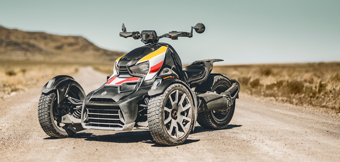 canam ryker rally spezifikationen
