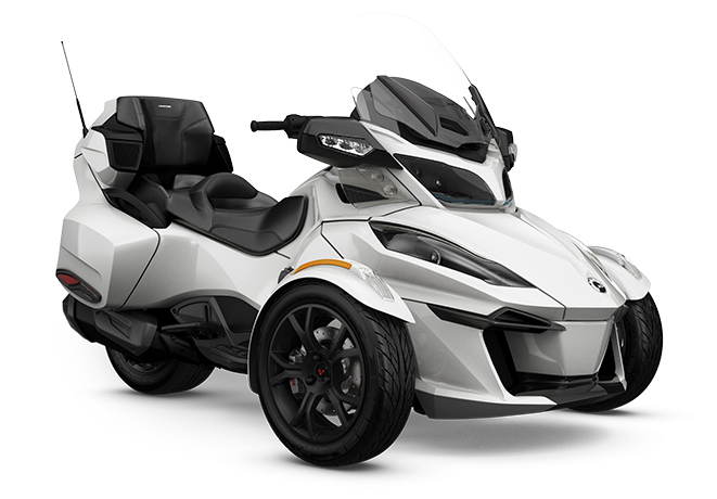 canam sypder rt ltd dark pearl white 2019