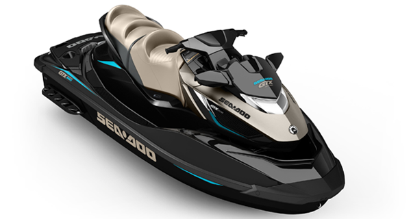Sea Doo GTX Limited S 260 MY17 Jet Black Metallic Deep Pewter Satin