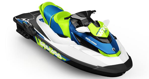 Sea Doo Wake Pro 230 MY17 White Denim Blue Satin